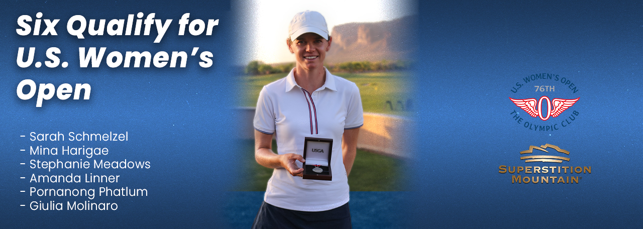 six qualify for US Womens Open
