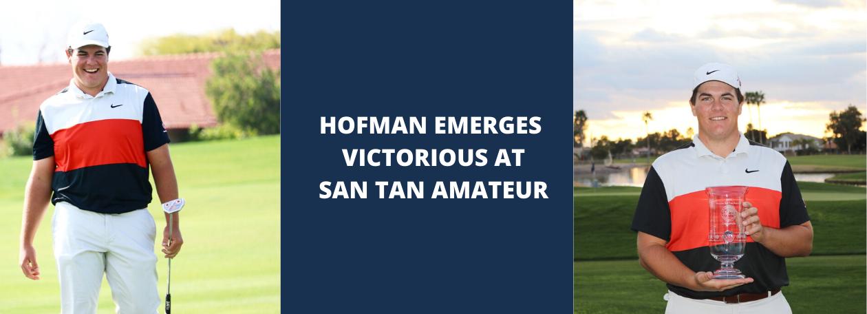 HOFMAN EMERGES VICTORIOUS