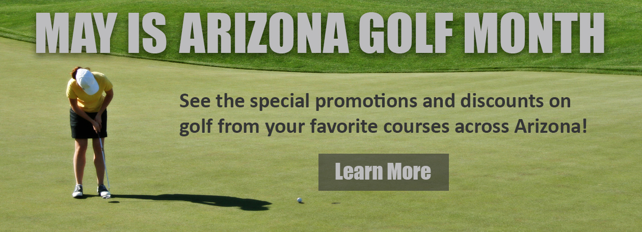 May is AZ Golf Month Slider