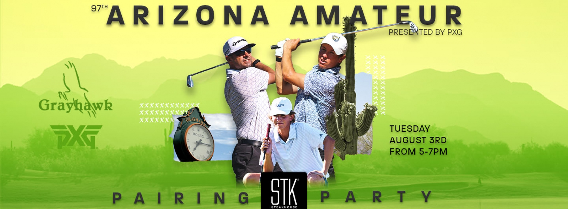 Join the AGA on August #rd from 5-7pm for the AZ Amateur Pairing Party