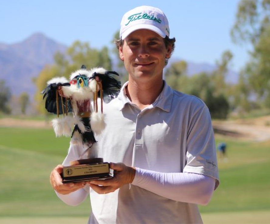 Sean O'Donnell wins the 2021 AZ Stroke Play Championship