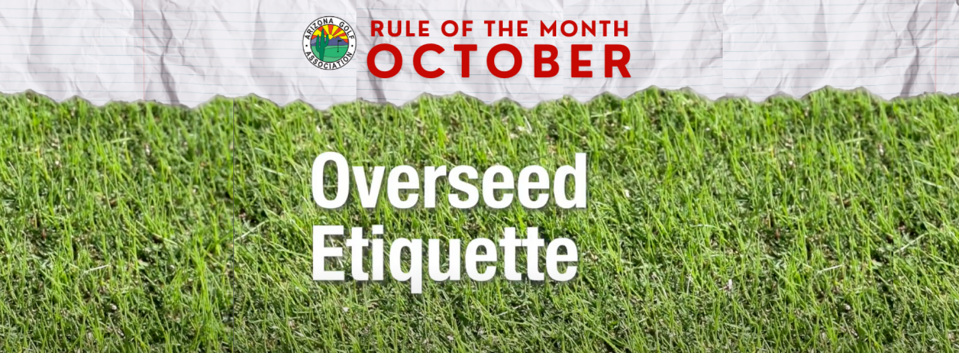 October Rule of the Month